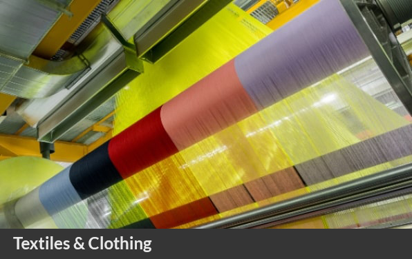 Textile rolls for operations in sustainable fashion for circular economy Ireland