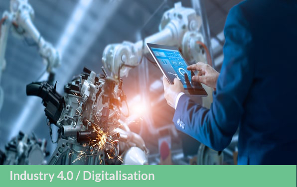 Industry 4.0 and increased data analytics for efficient operations and circularity